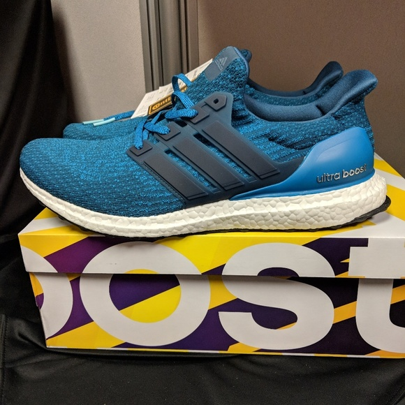 b943be36cdb adidas Other - Adidas Ultra Boost 3.0 Light Blue Navy
